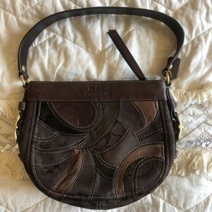 NWOT Coach Zoie Patchwork Mini Hobo